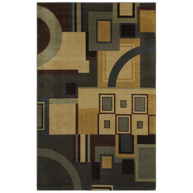 Mohawk Home Jackson Geometric 60-in x 96-in Rectangular Multi Geometric Area Rug