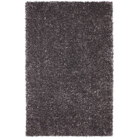 Mohawk Home Shimmer Graphite 60-in x 96-in Rectangular Gray/Silver Transitional Area Rug
