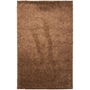 Mohawk Home Kodiak Hazel Gold Shag Brown Rectangular Indoor Tufted Area Rug (Common: 5 x 8; Actual: 60-in W x 96-in L x 0.5-ft Dia)