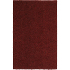 Mohawk Home Kodiak Rusty Red Shag Red Rectangular Indoor Tufted Runner (Common: 2 x 8; Actual: 24-in W x 96-in L x 0.5-ft Dia)