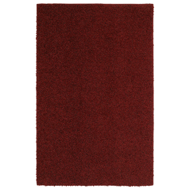 Mohawk Home 10-ft x 13-ft Red Kodiak Area Rug
