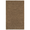 Mohawk Home Kodiak Peanut Patch Shag Brown Rectangular Indoor Tufted Runner (Common: 2 x 8; Actual: 24-in W x 96-in L x 0.5-ft Dia)