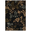 Mohawk Home Alcott Brown 63-in x 94-in Rectangular Brown/Tan Transitional Area Rug