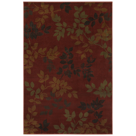 Mohawk Home 5-ft 3-in x 7-ft 10-in Alcott Rust Area Rug