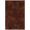 Mohawk Home Alcott Rust Red Rectangular Indoor Woven Area Rug (Common: 8 x 11; Actual: 96-in W x 132-in L x 0.5-ft Dia)