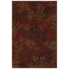 Mohawk Home Alcott Rust Rectangular Woven Area Rug