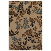 Mohawk Home Alcott Oyster 63-in x 94-in Rectangular Cream/Beige/Almond Transitional Area Rug