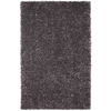 Mohawk Home Shimmer Graphite 96-in x 120-in Rectangular Gray/Silver Transitional Area Rug