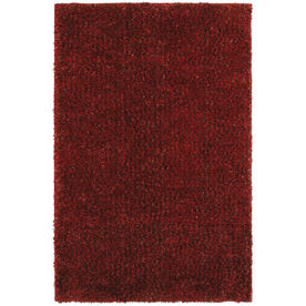 Mohawk Home Kodiak Cardinal 60-in x 96-in Rectangular Red/Pink Transitional Area Rug
