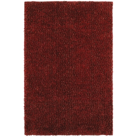Mohawk Home Kodiak Cardinal 96-in x 120-in Rectangular Red/Pink Transitional Area Rug