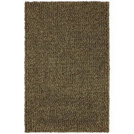 Mohawk Home 8-ft x 10-ft Deep Green Kodiak Area Rug