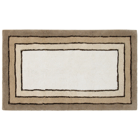 Style Selections Rectangular Tufted Throw Rug (Common: 2 x 4; Actual: 30-in W x 50-in L)