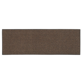 Style Selections Black Rectangular Indoor Tufted Throw Rug (Common: 2 x 4; Actual: 24-in W x 60-in L x 0.5-ft Dia)