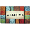 Style Selections Rectangular Door Mat (Common: 18-in x 30-in; Actual: 18-in x 30-in)
