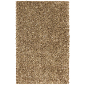 Mohawk Home Shimmer Spring Gold 60-in x 96-in Rectangular Yellow/Gold Transitional Area Rug