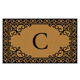 Mohawk Home 23&#034; x 35&#034; Scroll Corner Ultra Thick C Door Mat