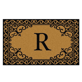 "Mohawk Home 18"" x 30"" Scroll Corner Ultra Thick R Door Mat"