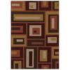 Mohawk Home Desert Frames 5-ft x 7-ft Rectangular Tan Transitional Area Rug