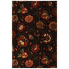 Mohawk Home 5-ft 3-in x 7-ft 10-in Eason Dark Brown Area Rug