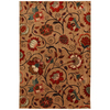 Mohawk Home Eason 5-ft 3-in x 7-ft 10-in Rectangular Beige Floral Area Rug