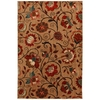 Mohawk Home Eason 8-ft x 11-ft Rectangular Beige Floral Area Rug