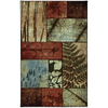 Mohawk Home Appalachian Moments Multi 5-ft x 8-ft Rectangular Blue Transitional Area Rug
