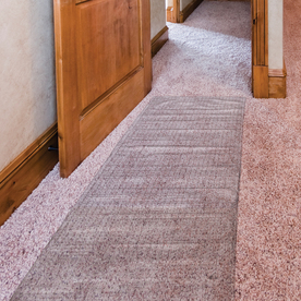 Mohawk Home Precut Low Pile Protector Gray Rectangular Indoor Tufted Runner (Common: 2 x 6; Actual: 27-in W x 72-in L x 0.5-ft Dia)