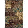 Mohawk Home Select Strata Sardina 60-in x 96-in Rectangular Brown/Tan Transitional Area Rug