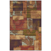 Mohawk Home Select Canvas Outer Limits Rectangular Blue Transitional Woven Area Rug (Common: 8-ft x 10-ft; Actual: 8-ft x 10-ft)