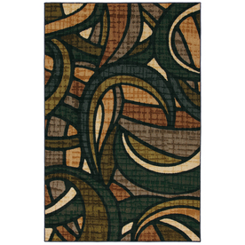 Mohawk Home 8-in x 10-in Multicolor Select Linen Area Rug