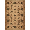 Mohawk Home Select Kaleidoscope Plantation Key 96-in x 132-in Rectangular Brown/Tan Transitional Area Rug