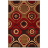 Mohawk Home Select Kaleidoscope Danger Zone Red 63-in x 94-in Rectangular Red/Pink Transitional Area Rug