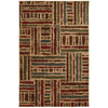 Mohawk Home Select Guilford Tarmac 63-in x 94-in Rectangular Green Transitional Area Rug