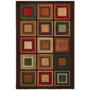 Mohawk Home Select Kensington City Center 63-in x 94-in Rectangular Green Transitional Area Rug