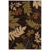 Mohawk Home Select Pinnacle Hidden Escape Brown 63-in x 94-in Rectangular Brown/Tan Transitional Area Rug