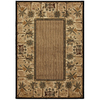 Mohawk Home Select Versailles Courtyard Palms 63-in x 94-in Rectangular Brown/Tan Transitional Area Rug