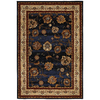 Mohawk Home Select Versailles Orient Express 63-in x 94-in Rectangular Blue Transitional Area Rug