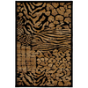 Mohawk Home Select Versailles Hallowed Ground 63-in x 94-in Rectangular Brown/Tan Transitional Area Rug