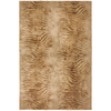 Mohawk Home Select Versailles Shock Wave 63-in x 94-in Rectangular Brown/Tan Transitional Area Rug