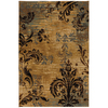 Mohawk Home Select Versailles Imperial Palace 63-in x 94-in Rectangular Brown/Tan Transitional Area Rug