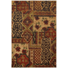 Mohawk Home Decorator'S Choice Royal Entrance Red 63-in x 94-in Rectangular Red/Pink Transitional Area Rug