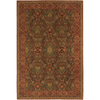 Mohawk Home Raymond Waites Myesha 63-in x 94-in Rectangular Yellow/Gold Transitional Area Rug