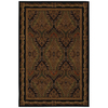 Mohawk Home Raymond Waites Royal Kingdom 63-in x 94-in Rectangular Black Transitional Area Rug