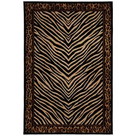 Mohawk Home Raymond Waites Sahara Rectangular Black Transitional Woven Area Rug (Common: 5-ft x 8-ft; Actual: 5.25-ft x 7.83-ft)