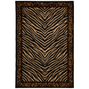 Mohawk Home Raymond Waites Sahara 63-in x 94-in Rectangular Black Transitional Area Rug