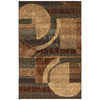 Mohawk Home Select Strata Dakota 96-in x 120-in Rectangular Brown/Tan Transitional Area Rug