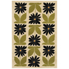 Mohawk Home Kansas Spring Cream 63-in x 94-in Rectangular Cream/Beige/Almond Transitional Area Rug
