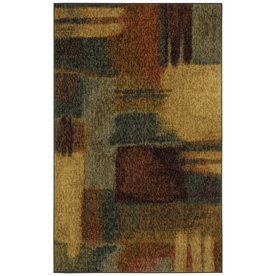 Mohawk Home Montage Heritage Multicolor Rectangular Indoor Tufted Area Rug (Common: 5 x 8; Actual: 60-in W x 96-in L x 0.5-ft Dia)