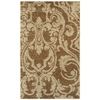Mohawk Home Wilkshire Apple Butter Biscuit Brown Rectangular Indoor Tufted Area Rug (Common: 5 x 8; Actual: 60-in W x 96-in L x 0.5-ft Dia)