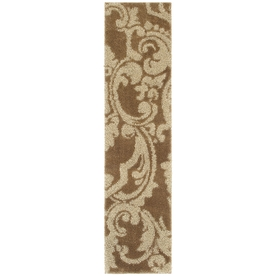 Mohawk Home Wilkshire Brown Rectangular Indoor Tufted Runner (Common: 2 x 8; Actual: 24-in W x 96-in L x 0.5-ft Dia)